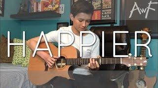 Download Lagu Happier - Ed Sheeran - Cover (fingerstyle guitar) Gratis STAFABAND