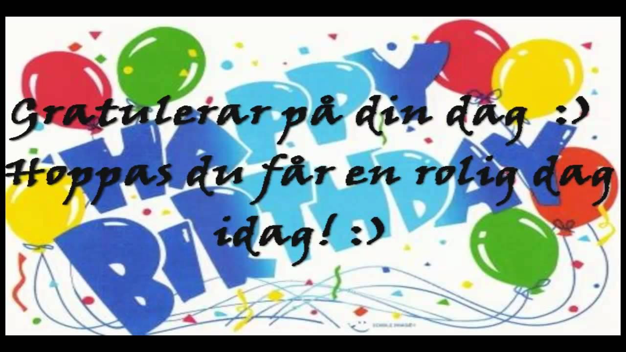 grattis på födelsedagen arabiska