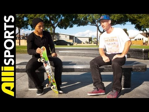 Daewon Song Vs. Cooper Wilt Skate Trivia Battle, Alli Sports HEAD2HEAD