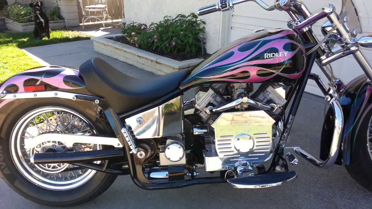 Ridley Automatic Motorcycle for sale in California YouTube