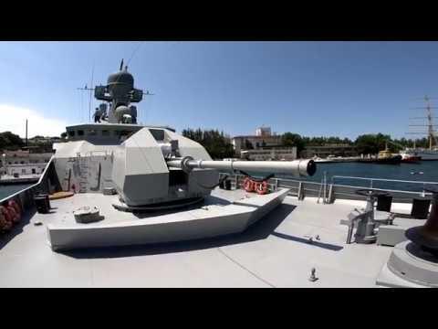 Прогулка по МРК Вышний Волочёк - новейший корабль России
