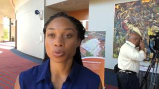 Allyson Felix Talks About The 2016 World Indoor Championships