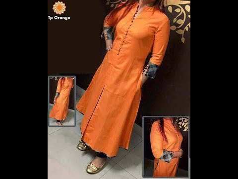 Latest Designer Tapeta Silk Dress For Girls | Fashion Dress Designs | Fashion9tv