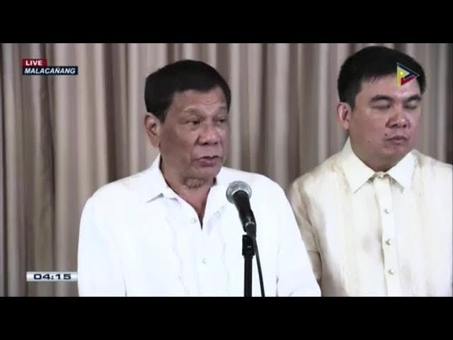 Duterte says Ombudsman Morales will face impeachment case
