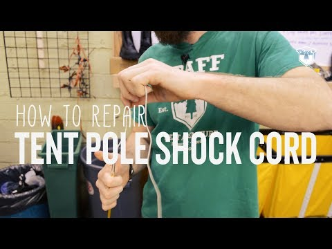 How To Repair a Tent Pole