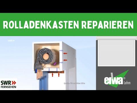 Rolladenkasten - Rolladengurt Reparieren-er Springt Immer Raus-Energie Einsparen... .