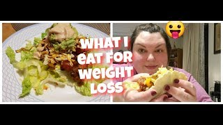 WHAT I EAT IN A DAY FOR WEIGHT LOSS (FULL DAY OF EATING)
