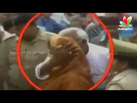 Nagma Kissed By Congress Mla | Hot Tamil Cinema News video