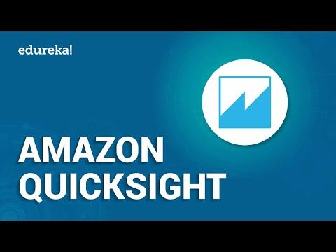 Introduction To Amazon QuickSight   AWS Certification Training   Edureka