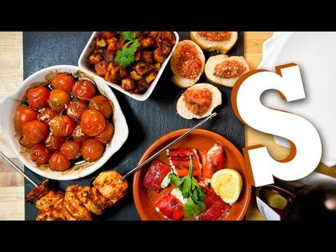 TAPAS PLATTER RECIPE - SORTED
