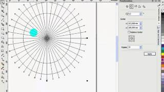 CorelDraw B -Spline tool ve Point line tool kullanımı