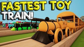 WORLDS FASTEST TOY TRAIN & HUGE UPDATE! -  Tracks - The Train Set Game Gameplay - Toy Trains
