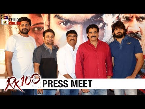 RX 100 Movie Press Meet | Kartikeya | Payal Rajput | 2018 Telugu Trailers | Telugu Cinema