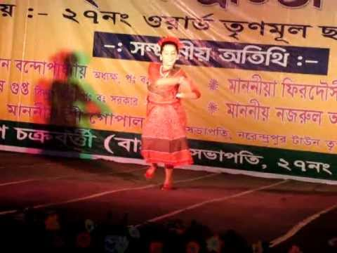 Chaata Dhoro He Deora : Bengali Folk Dance: Anudhriti Bhattacharjee video