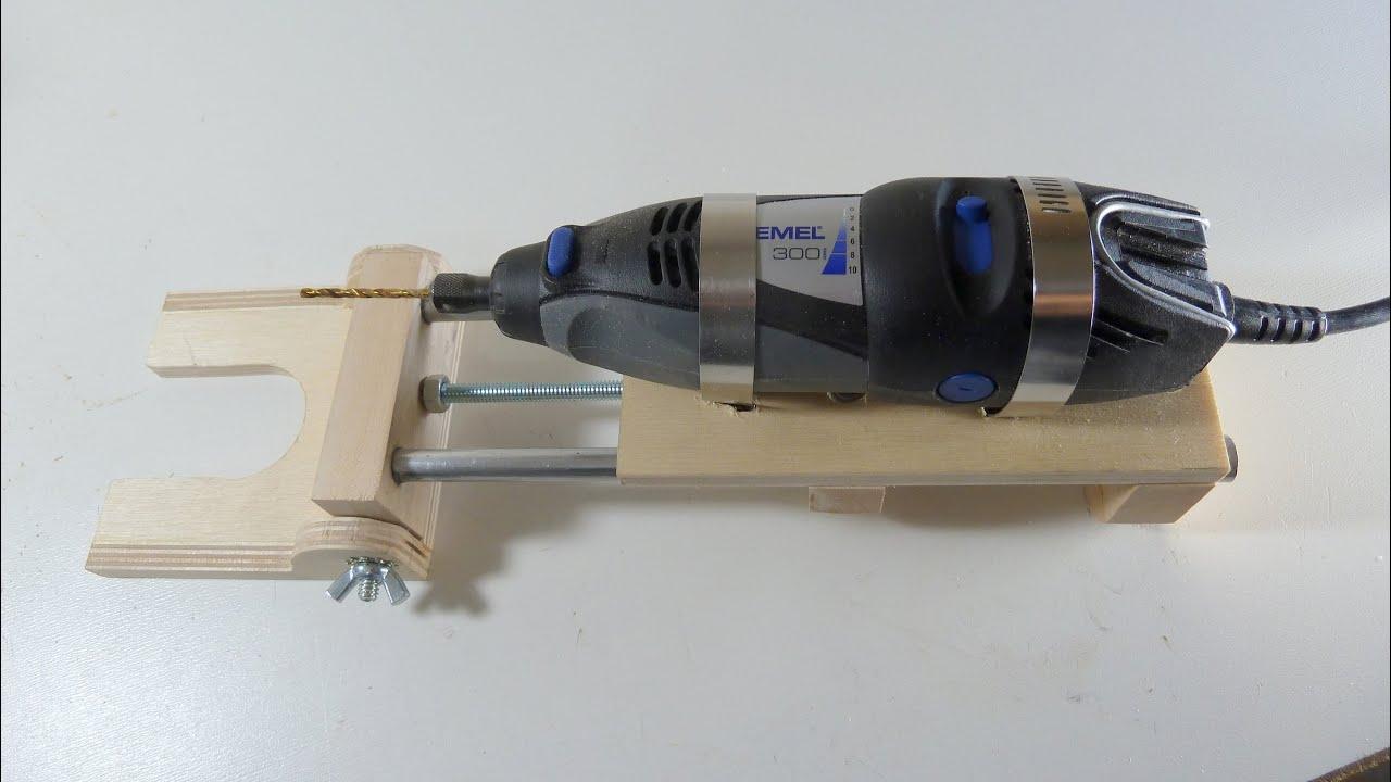 Rotary drill press horizontal vertical youtube - Soporte para dremel ...