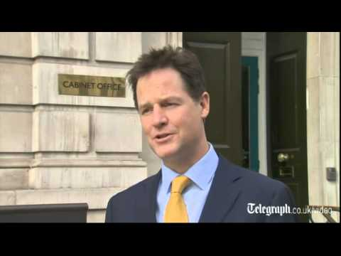 Nick Clegg defends record