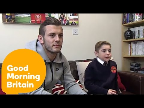 Jack Wilshere Surprises Young Archie | Good Morning Britain