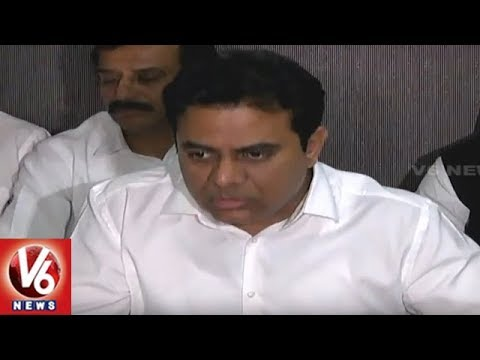 Minister KTR To Meet PM Modi | To Raise Bayyaram Steel Plant & ITIR Issues | V6 News