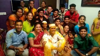 A sonu tuza majhyavar bharosa nay kay || Haldi Function 2017 || Funny Video || Mulund West