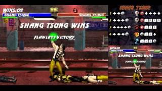 Ultimate MK3 ~ Shang Tsung Playthrough 【TAS】
