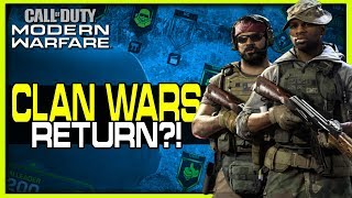 Clan Wars Returning in Modern Warfare?!