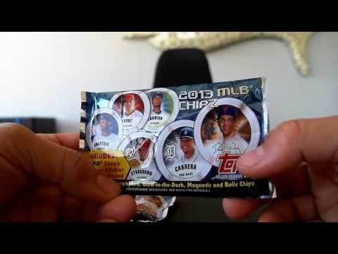 with the baseball card market in the toilet, Topps created a new and fun way for kids and adults to collect baseball card style things lol. enjoy my review of the new Topps CHIPz.