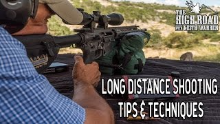 Long Distance Shooting Tips and Techniques