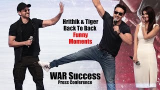 Hrithik Roshan LIVE MASTI With Media & Tiger | War Success Press Conference