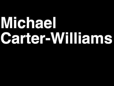 How to Pronounce Michael Carter-Williams Philadelphia 76ers NBA Draft Pick Player