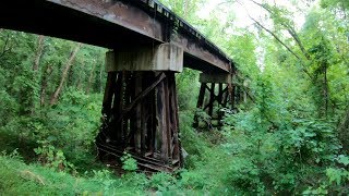 Extremely Dangerous Abandoned Railroad Bridge Explored!