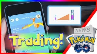 POKEMON GO UPDATE NEWS! New Trading Feature Details Announced Today! EX Raid Pass Hunting Kyogre