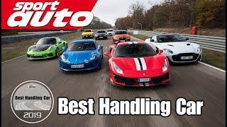Best Handling Car 2019 | Der Handling Mega-Test in L´Anneau du Rhin | sport auto