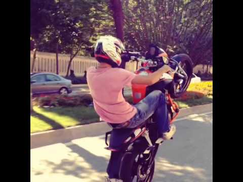 KTM DUKE 200 Wheelie (Turkey)