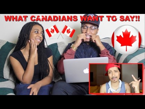 """Couple Reacts : """"What Canadians Really Want To Say To Americans""""  Reaction!!"""