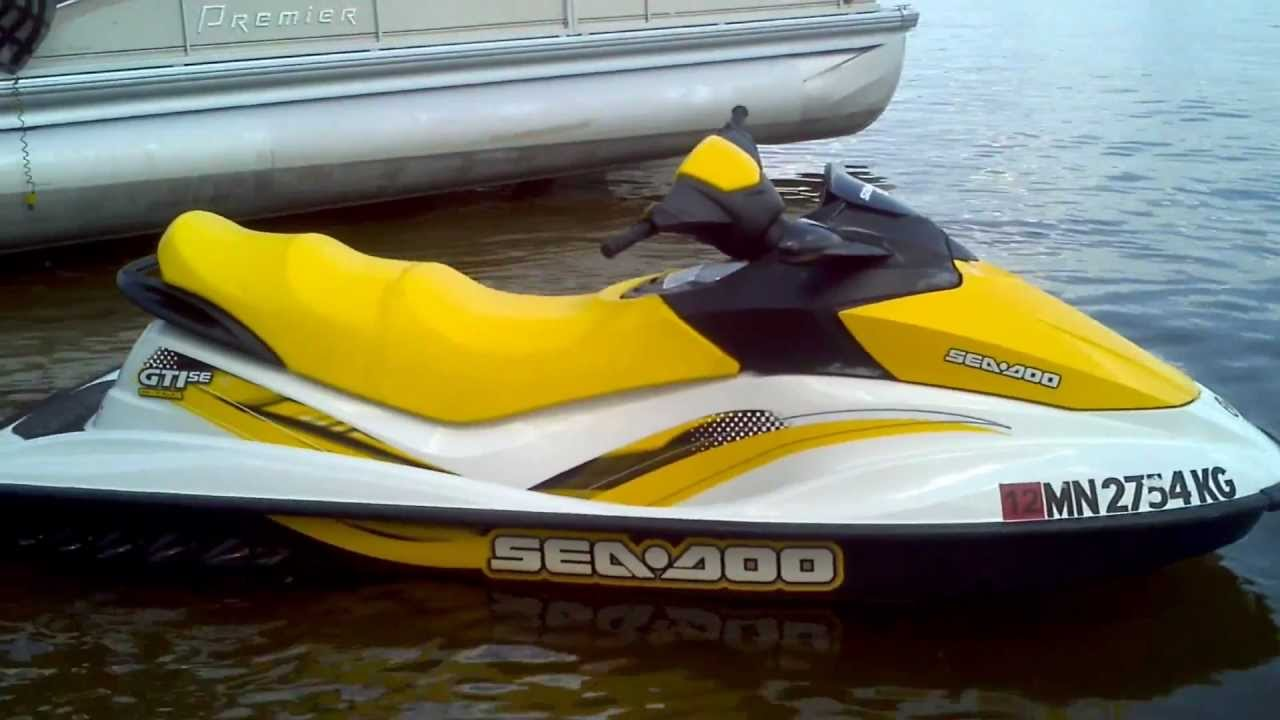 07 Seadoo Gti Se For Sale Call Or Text 651 253 1647 Youtube