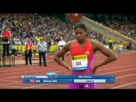 IAAF Diamond League Birmingham women 400m