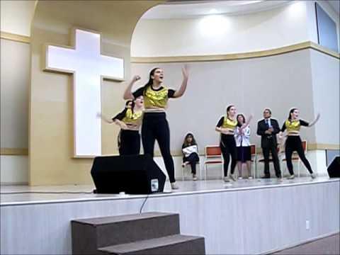 Tempo De Festa - Diante Do Trono - Ministério De Dança Ieq Sede Taquari video