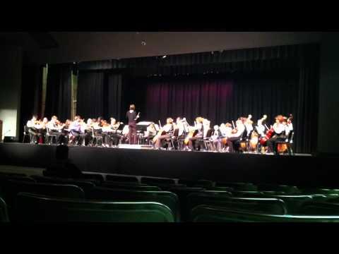 Des Moines Roosevelt High School Orchestra, Holberg Suite V, May 4 2012