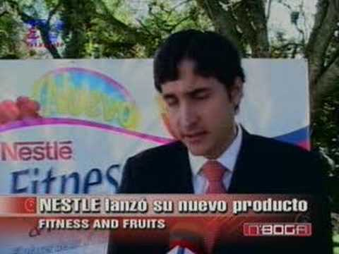 Nestlé lanzó su producto Fitness and Fruits