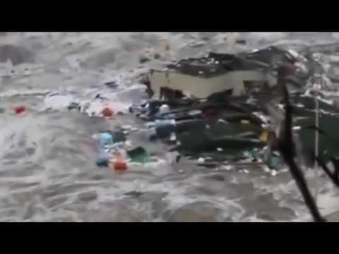 MEGA TSUNAMI   Caught On Camera   Tsunami Earthquake Japan 2011   Most Shocking Tidal Wave Video