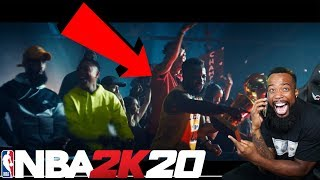 I CALLED MY MOM TO TELL HER I'M ON THE NBA 2K20 COMMERICAL!!!!!!!!