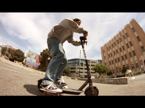 Skateboarding on San Francisco's Birds
