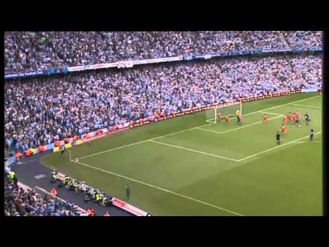 Manchester City v Middlesbrough 2005 - Hasselbaink goal and Schwarzer save