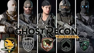 Ghost Recon Wildlands: Fictional Special Ops Uniforms: MGS1, Medal of Honor, Ace Combat 5, MW2