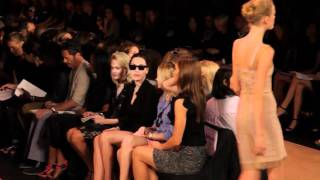 HERVE LEGER BY MAX AZRIA S/S 2011 FASHION SHOW - VIDEO BY XXXX MAGAZINE