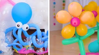 14 DIY Decoration Tips Using Bunch O Balloons Party Balloons! | Fun & Festive Party Decor by Blossom
