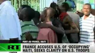Haiti Doctors Without Borders Aid Planes Refused Landings 19th 1st 2010