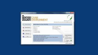 Boson ExSim-Max Exam Simulation Video Demo
