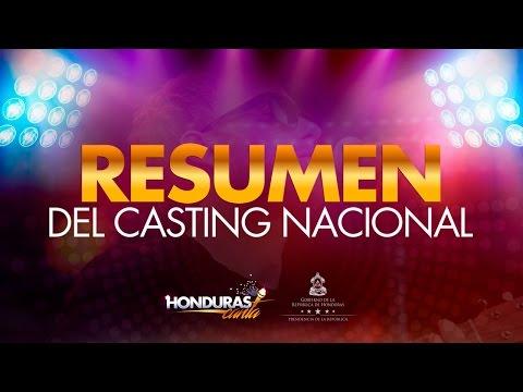 "ESPECIAL GRAN CASTING NACIONAL ""HONDURAS CANTA"""