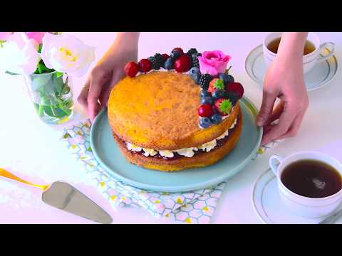 Recette du Victoria Sponge Cake - Cake Design d'Anne-Sophie thumbnail